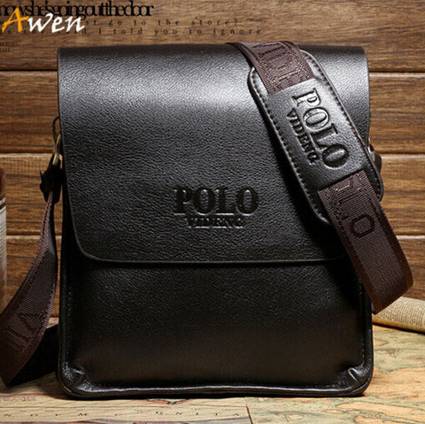 Awen-hot sell famous brand Italian design genuine leather men bag