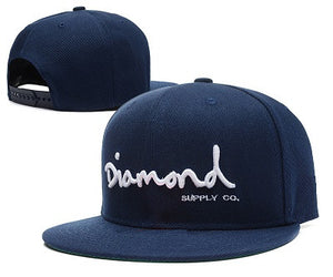 2016 New Fashion Wine Red Diamond Hat Baseball HipHop