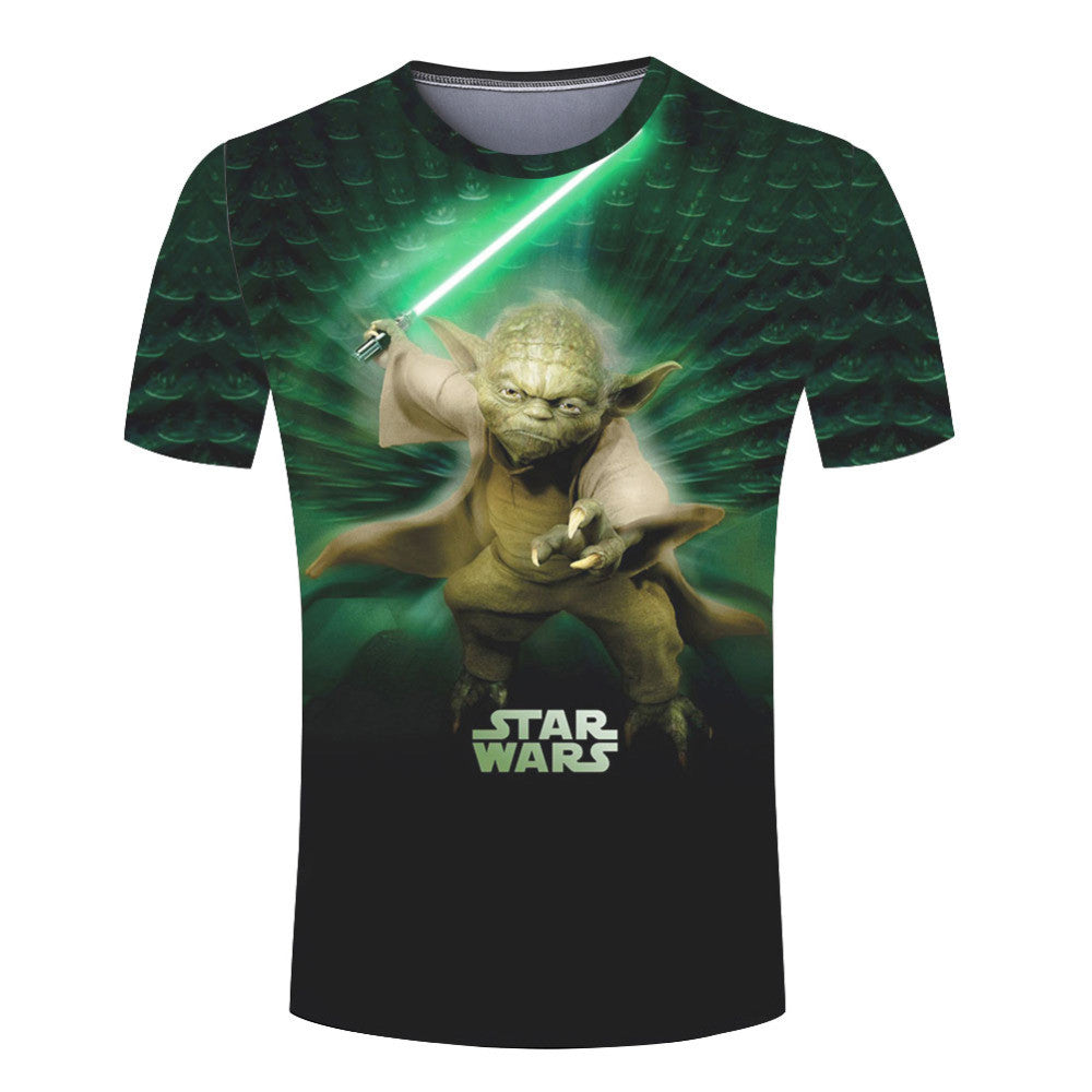 Fashionable Camisetas Darth Vader T Shirts Men Star Wars