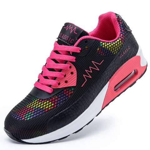 2016 Fashion Sneaker Women Trainers Breathable Sport Shoes