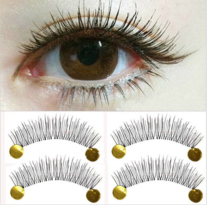 10Pair New Makeup False Eyelashes Soft Natural Cross Long Eye Lashes Extension - Gifts Leads