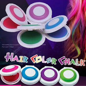 1pc Fashion 4 Colors Hair Powder Hair Chalk Dye Soft Pastels Salon Hair Color Crayons Christmas HOT DIY Temporary Hair Color - Gifts Leads