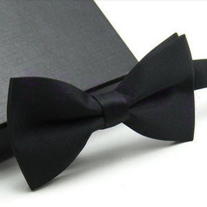 2016 New Formal commercial bow tie male solid color