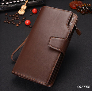 Carteira Masculina Cowather Brand Genuine Leather
