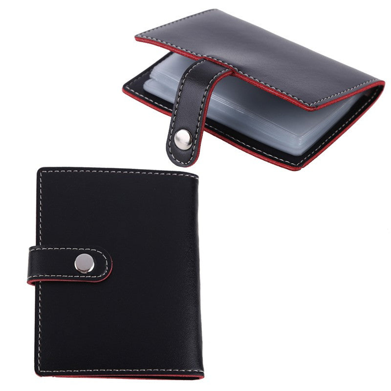 2016 Arrival Black PU Leather Business Wallet Credit Card