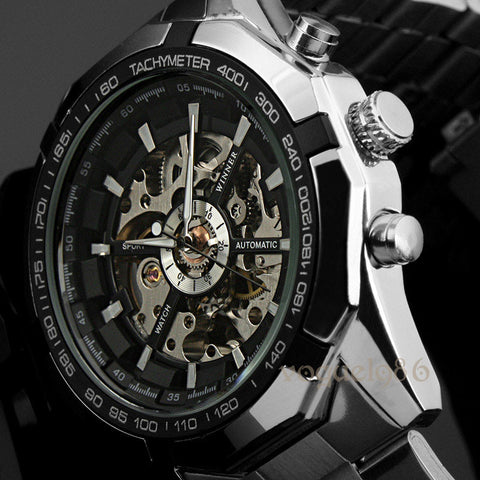 Relojes Watches Branded Mens Classic Stainless Steel
