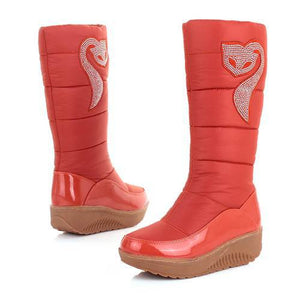 new winter Russia keep warm snow boots Cotton shoes