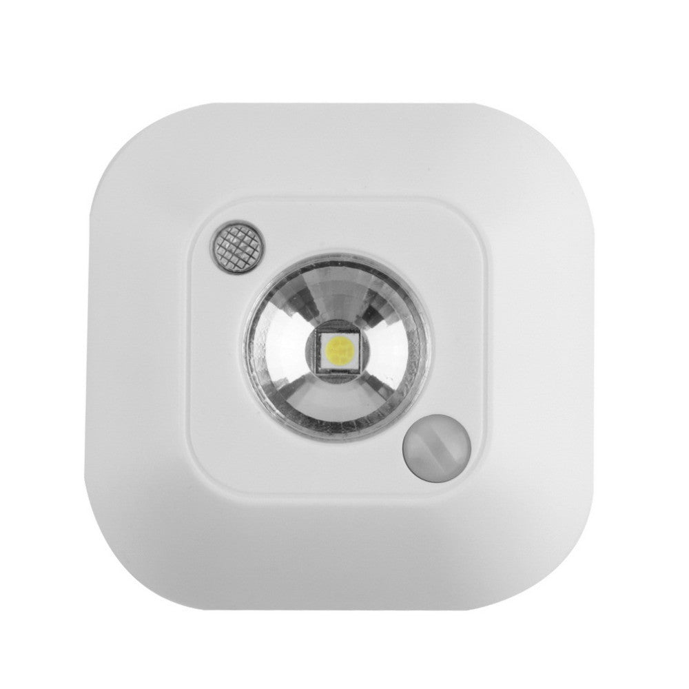 2016 Popular New Mini Wireless Infrared Motion Sensor Ceiling Night Light Battery Powered Porch Lamp