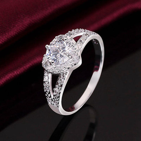Hot new silver Ring jewelry Korean exquisite color high for women