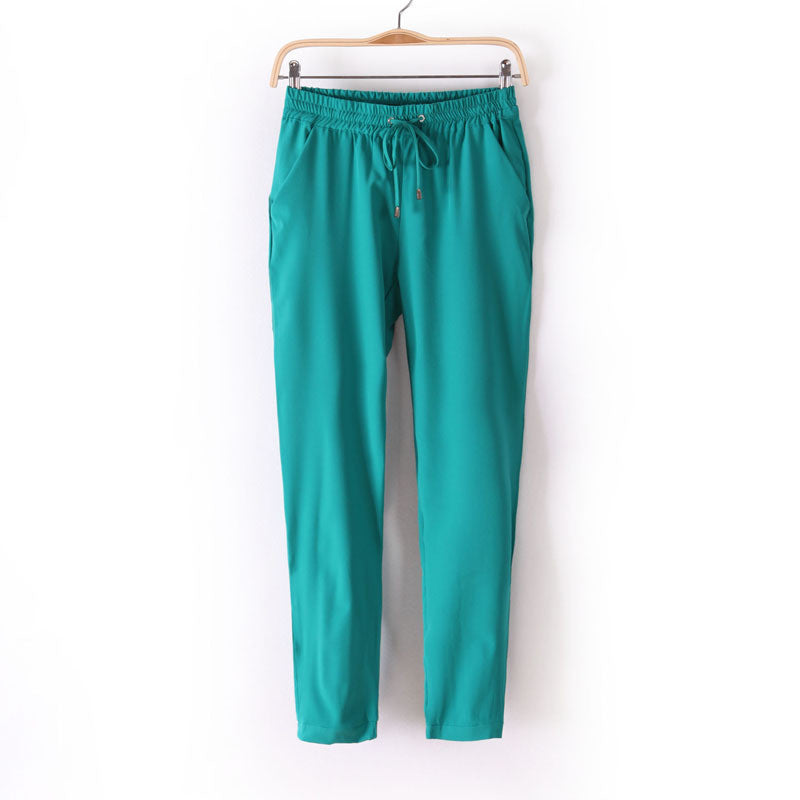 2016 Summer New Women's Sweet Seven-Pants