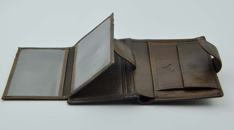Men Wallets Brand Vintage Designer Genuine Oil Wax Leather