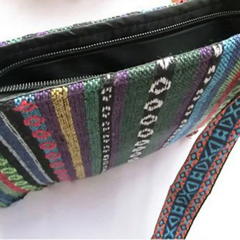 Vintage Hmong Thai Indian Ethnic shoulder bag Hippie hobo bag Messenger Bag  New