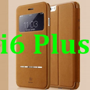 Deluxe Original Baseus Terse Series Flip Leather Case for iphone 6 4.7