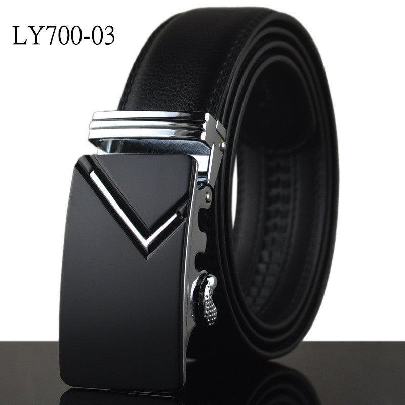 High Quality  Male New Brand Cowather Real Leather Eagle Belts