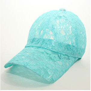 2016 New Fashion Summer women's lace Baseball Cap