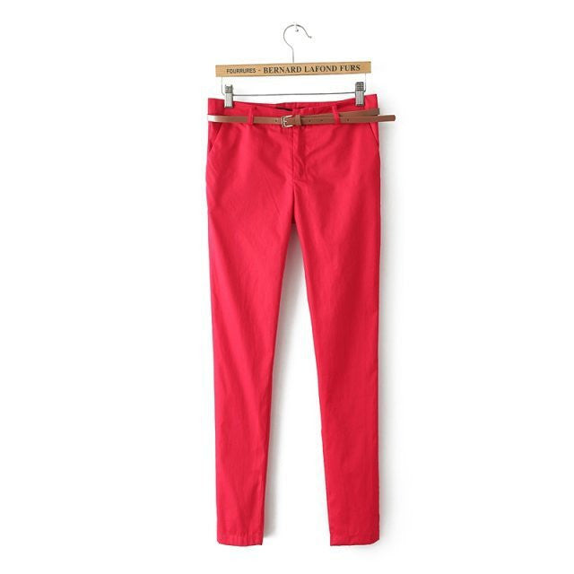 Cotton Trousers Casual Slim Pants 2016 Spring Harem