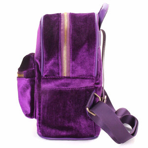 Fashion Women Cute Backpacks Velvet Casual Style Retro Backapck