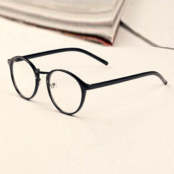 Mens Womens Nerd Glasses Clear Lens Eyewear Unisex