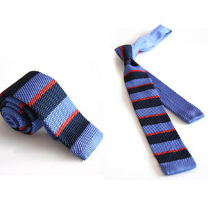 Hot Fashion Male Brand Slim Designer Knitted Neck Ties