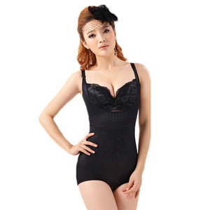 Women Floral Bodysuits Shapewear Underwear Plus size