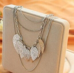 Jewelry Fashion Jewelry For Women Stray Leaves Necklace