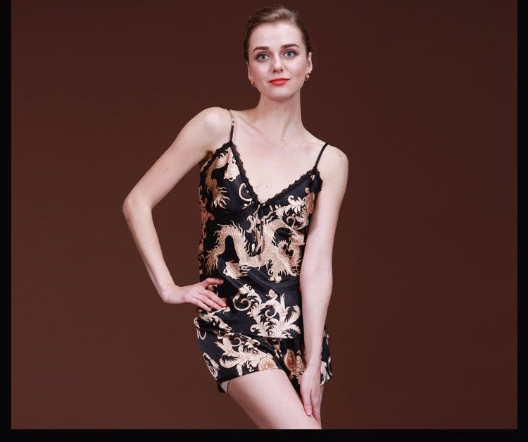 New Arrival ! Women's sleepwear twinset summer spaghetti