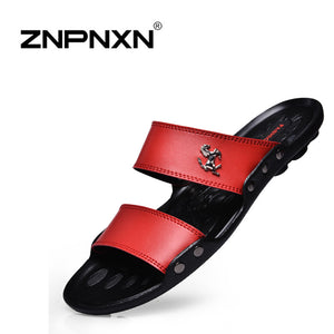 New 2016 Famous Brand Casual Man sandals Slippers