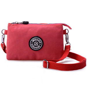 Women shoulder bag Clutch nylon mini Handbags solid
