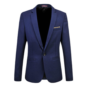 Men Suit Business Formal Men Fashion Blazer Jacket