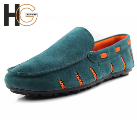 Spring Summer Breathable Slip-on Shoes For Men