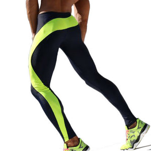 Men High Stretch Tight Pants Men Gym Pants Long pants