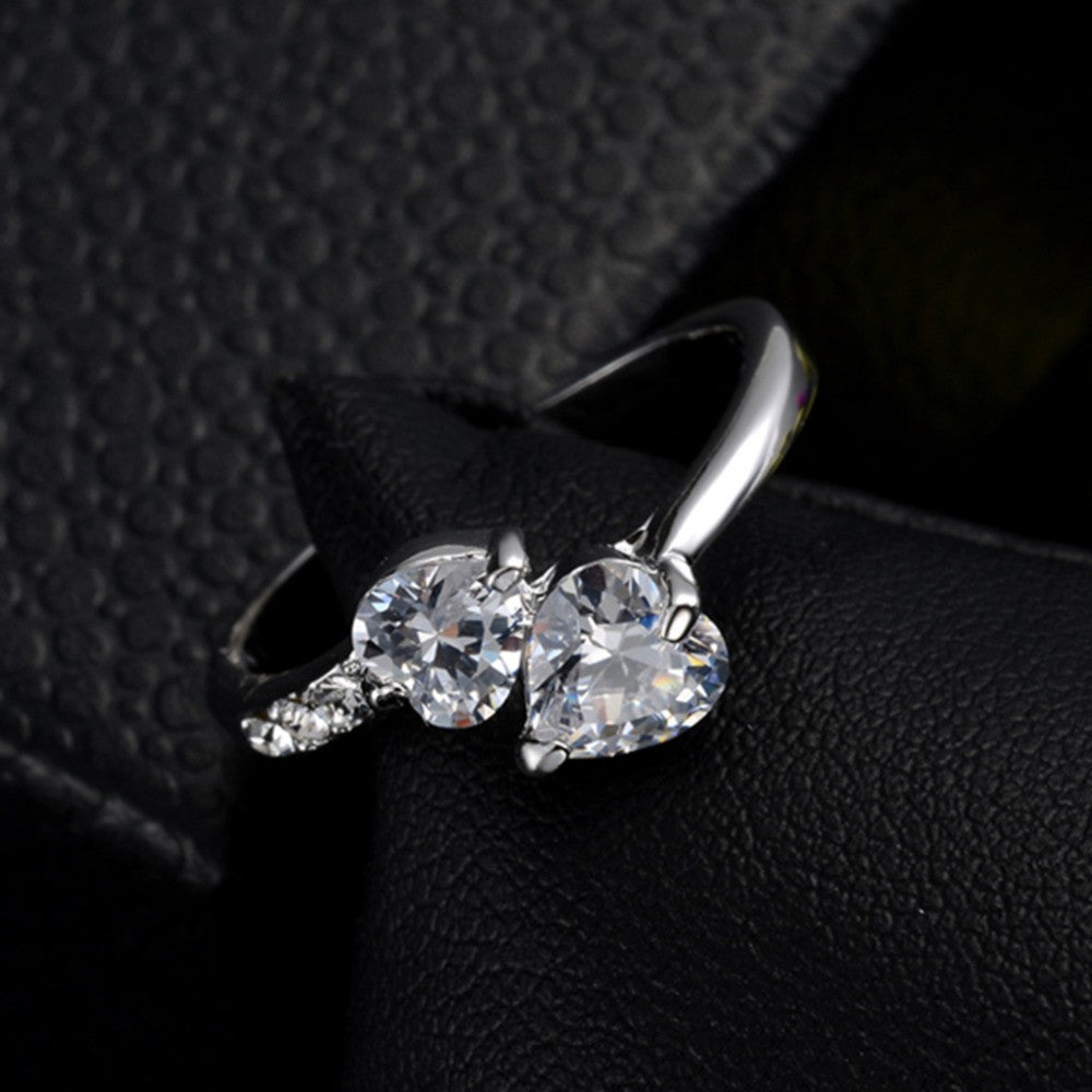 Hot New Design Fashion Noble Plated 18k Real Leaf gold Zircon