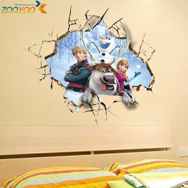 Movie wall stickers home decor girls bedroom home decorations diy ...