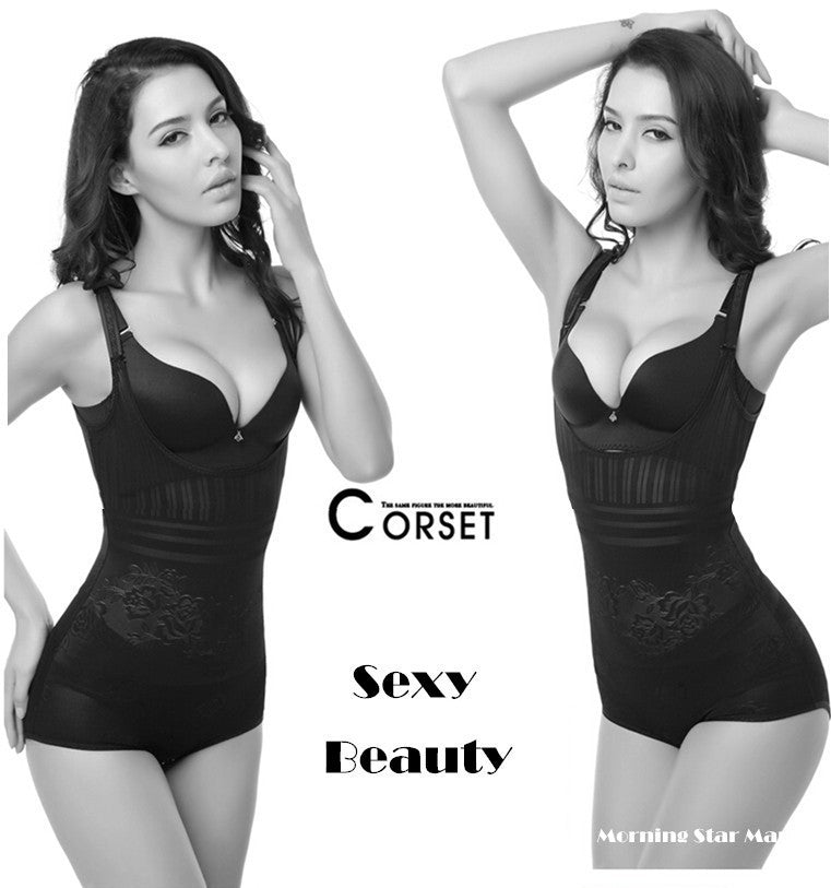 Plus Size Sexy Women Bodysuits Slimming Bodysuit