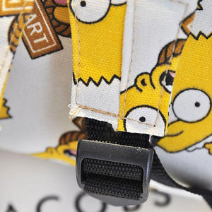 Cartoon Simpson Printting Backpacks Canvas Girls/Boys