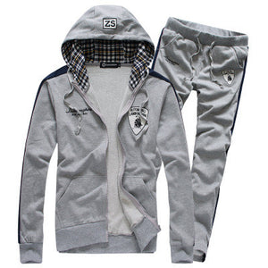 2016 New arrival menswear fashion casual sports suit mens