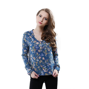 2016 New Fashion Ladies' Elegant vintage floral print