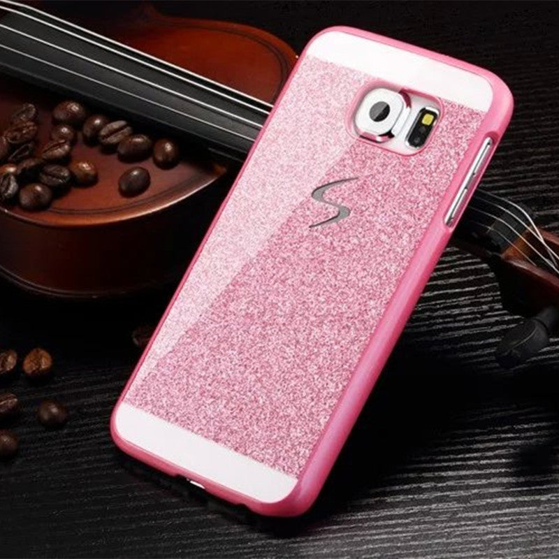 Hard Flash Plastic Cover Diamond Bling Crystal Capa Fundas Case