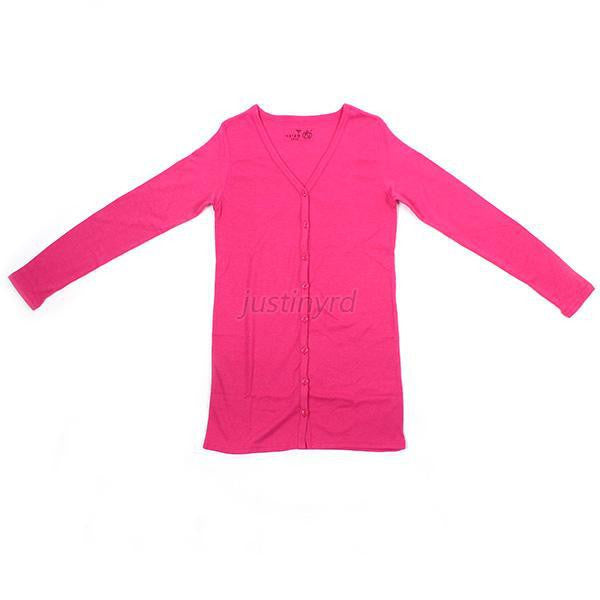 Women Casual Jumper Cardigan Long Coat Jacket
