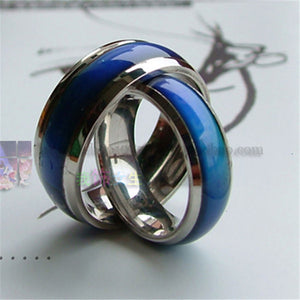 Fashion Magic Mood Ring Temperature Changing Color Emotion Feeling Rings