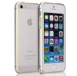 For iPhone 5 5S Ultra Thin Slim Aluminium Metal Hippocampal