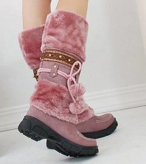 Ankle Boots short heel shoes winter fashion sexy