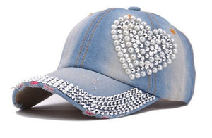 New Snapbacks Hats Sport Heart-Shaped Diamond