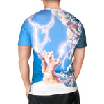 3D summer Fashion Thundercat T-Shirt fearless kitty cat