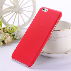0.3mm Ultra thin matte Case cover skin for iPhone 6PLUS - Gifts Leads