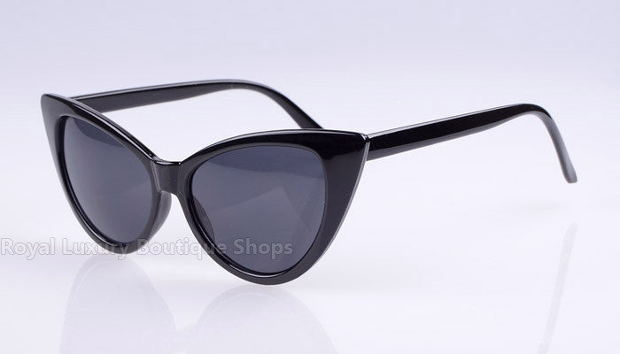 2016 Fashion Women Black Cat Eye Sunglasses