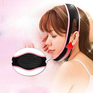 1 Pcs Face Lift Up Belt Sleeping Face-Lift Mask Massage Slimming Face Shaper Relaxation Facial Slimming Bandage - Gifts Leads