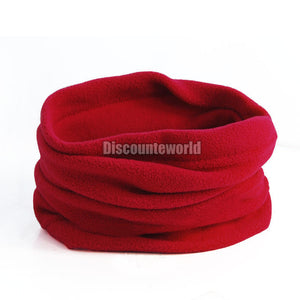 2016 Fashion New Use Unisex Polar Fleece Snood Hat Neck