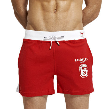 Men Sport Shorts Men's Loose Short Trousers Casual Calf-Length