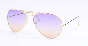 Vintage Women Glasses Pilot Sunglasses Women